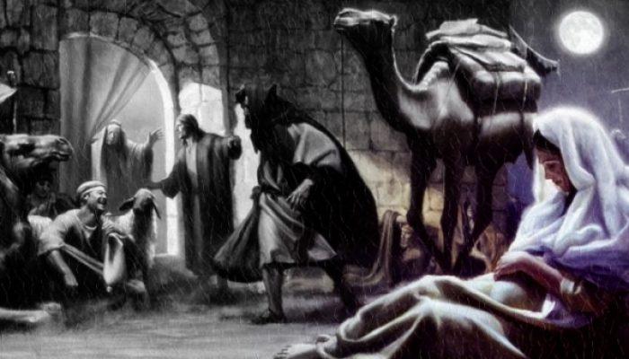 Kto dá prístrešie Svätej rodine?